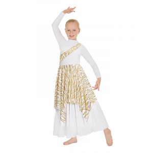Child Passion of Faith Asymmetrical Praise Tunic